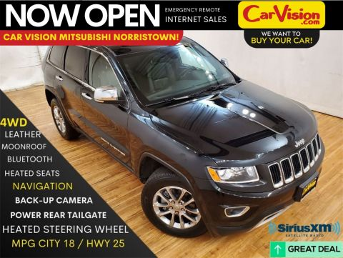 Pre-Owned 2016 Jeep Grand Cherokee Limited NAVIGATION MOONROOF REAR CAMERA With Navigation & 4WD