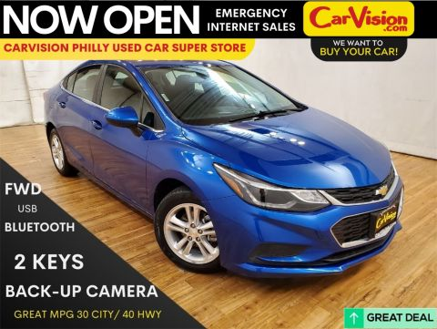 2017 Chevrolet Cruze LT MEDIA SCREEN REAR CAMERA