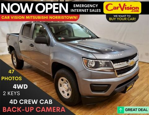 Pre-Owned 2018 Chevrolet Colorado Work Truck MEDIA SCREEN REAR CAMERA 4WD