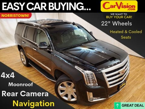 Terrific Pre Owned 2018 Cadillac Escalade Luxury Navigation Moonroof Rear Camera With Navigation 4Wd Dailytribune Chair Design For Home Dailytribuneorg