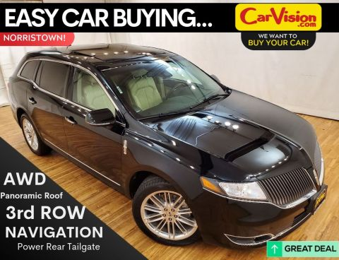 2016 Lincoln MKT EcoBoost NAVIGATION SUNROOF REAR CAMERA