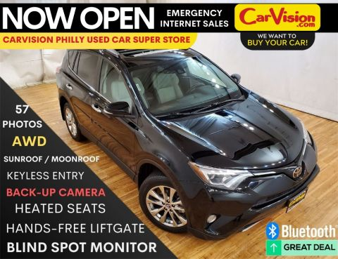 Pre-Owned 2017 Toyota RAV4 Limited NAVIGATION MOONROOF REAR CAMERA With Navigation & AWD