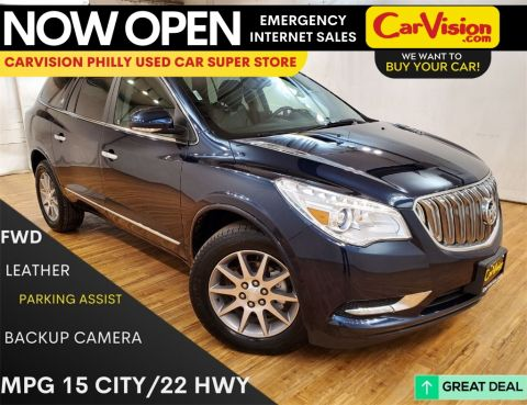 2016 Buick Enclave Leather Group MEDIA SCREEN REAR CAMERA
