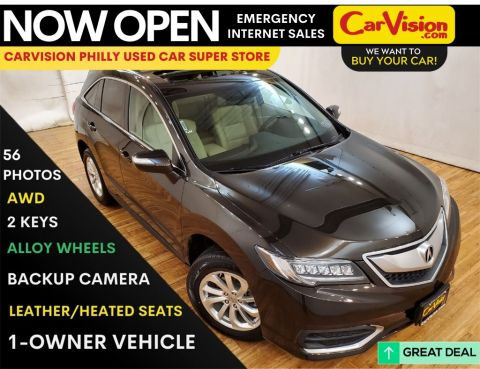 2016 Acura RDX Base SH-AWD MOONROOF REAR CAMERA