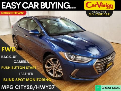 2017 Hyundai Elantra Limited MEDIA SCREEN REAR CAMERA