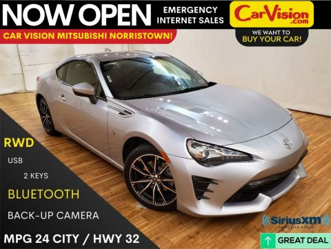 Pre-Owned 2017 Toyota 86 Base MEDIA SCREEN REAR CAMERA RWD 2D Coupe