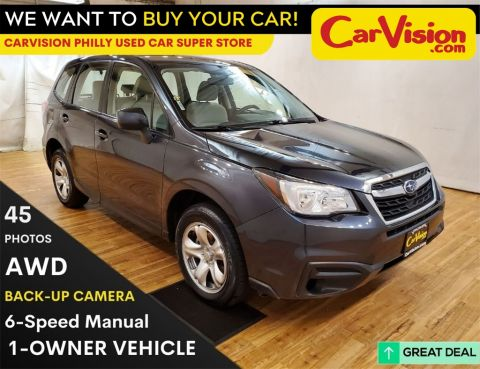2017 Subaru Forester 2.5i  Back-Up Camera  Bluetooth Connection