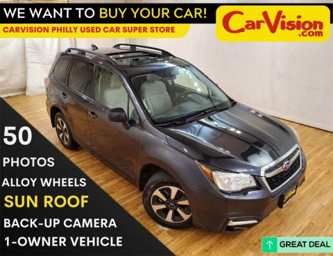 2017 Subaru Forester 2.5i Premium MEDIA SCREEN MOON ROOF BACK UP CAMERA