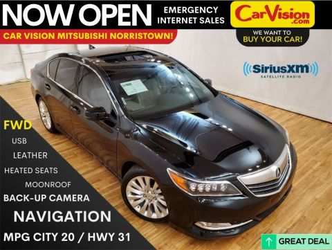 2015 Acura RLX Base w/Technology Package NAVIGATION MOONROOF