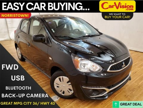 Pre-Owned 2019 Mitsubishi Mirage ES H/B--5-SPEED MEDIA SCREEN REAR CAMERA FWD 4D Hatchback