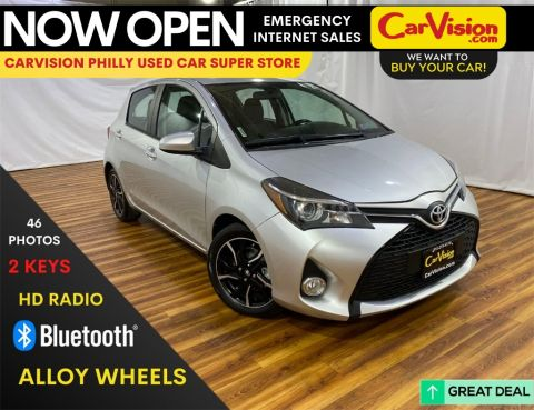 Pre-Owned 2016 Toyota Yaris L MEDIA SCREEN FWD 5D Hatchback