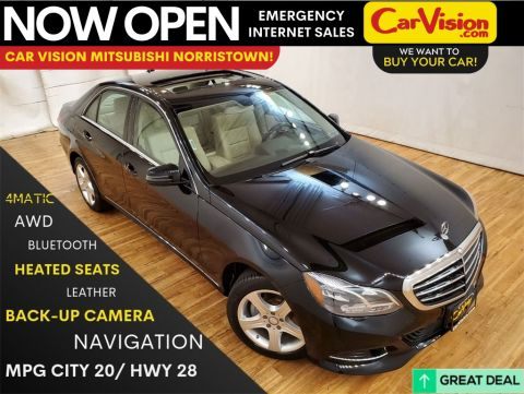 2016 Mercedes-Benz E-Class E 350 4MATIC® NAVIGATION MOONROOF REAR CAMERA