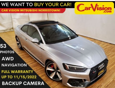 2018 Audi RS 5 2.9T quattro NAVIGATION MOONROOF REAR CAMERA